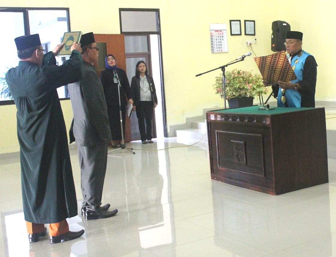 Pelantikan Panitera PTUN Bandar Lampung