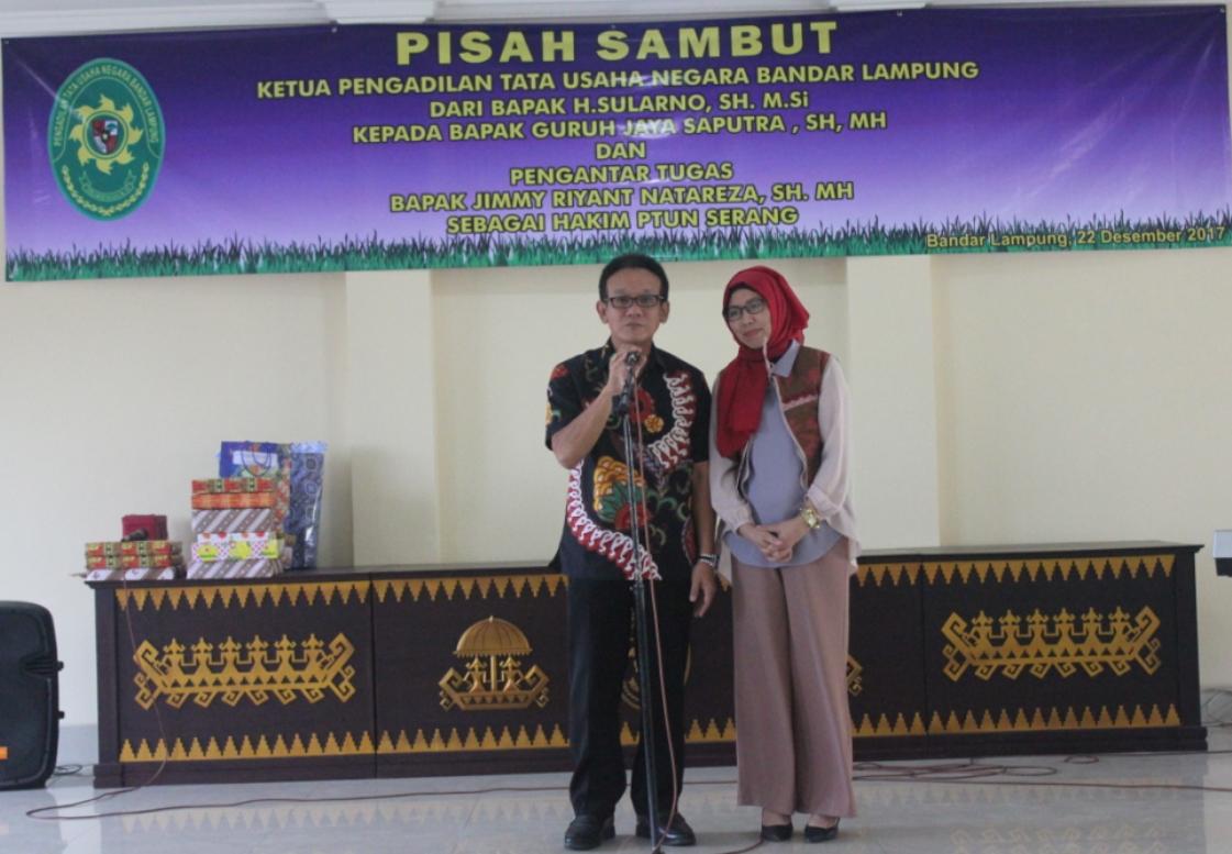 Pisah Sambut Ketua PTUN Bandar Lampung