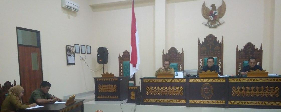 Rapat Triwulan PTUN Bandar Lampung
