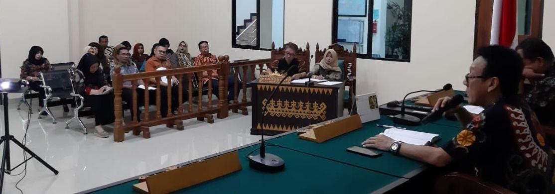 Rapat Sosialisasi Aplikasi E_Court