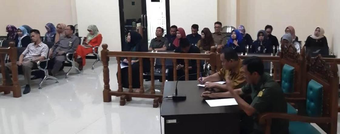 Rapat Evaluasi Bulan April 2019