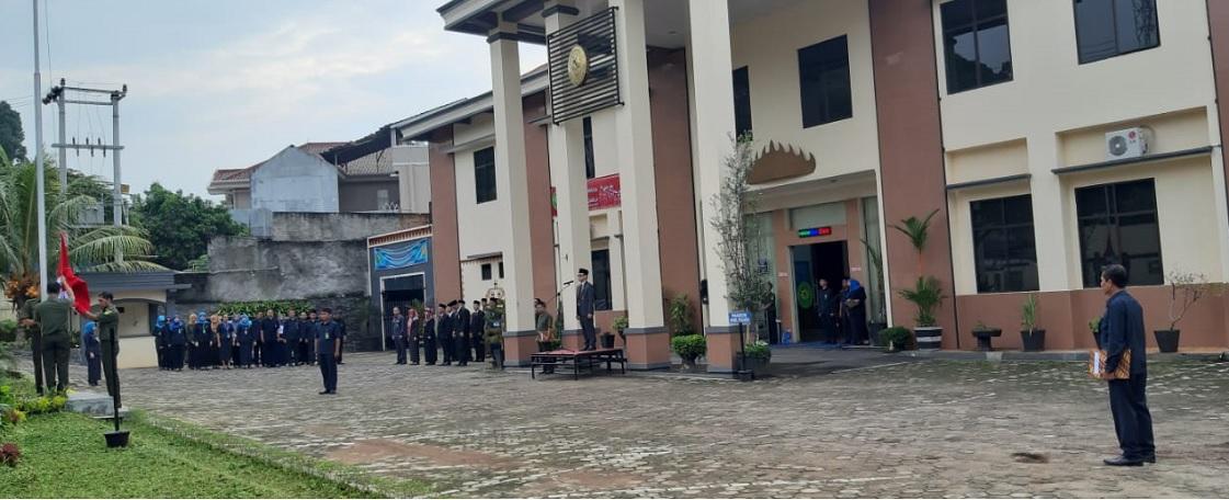 Upacara Hari Lahir Pancasila Pada PTUN Bandar Lampung
