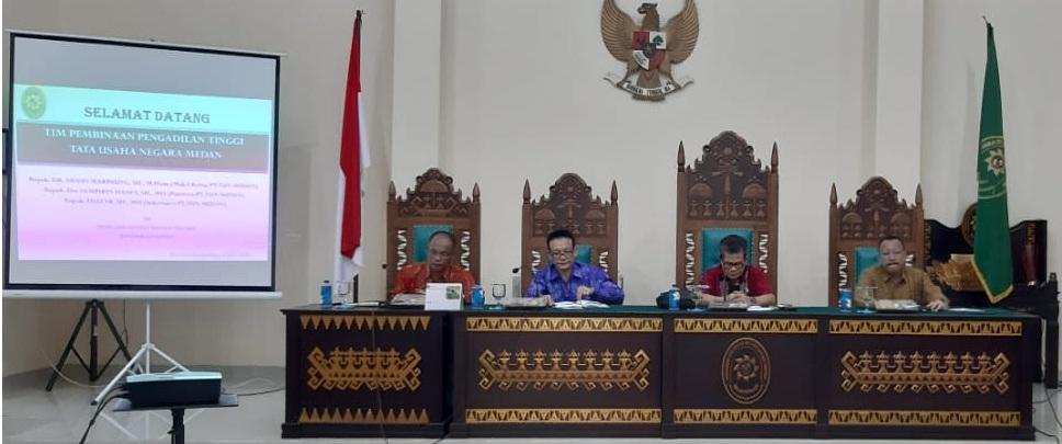 Pembinaan Oleh Tim Pengadilan Tinggi TUN Medan
