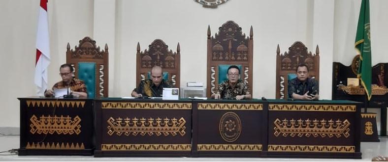 Rapat Evaluasi Bulan Agustus 2019