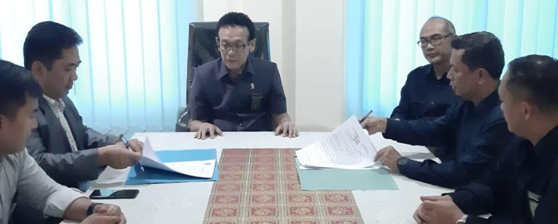 Perintah Kerja dan Perjanjian Kerja POSBAKUM PTUN Bandar Lampung tahun 2020