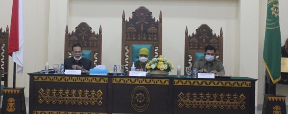 Monitoring dan Evaluasi Direktur Jendral Badan Peradilan Militer dan Peradilan Tata Usaha Negara