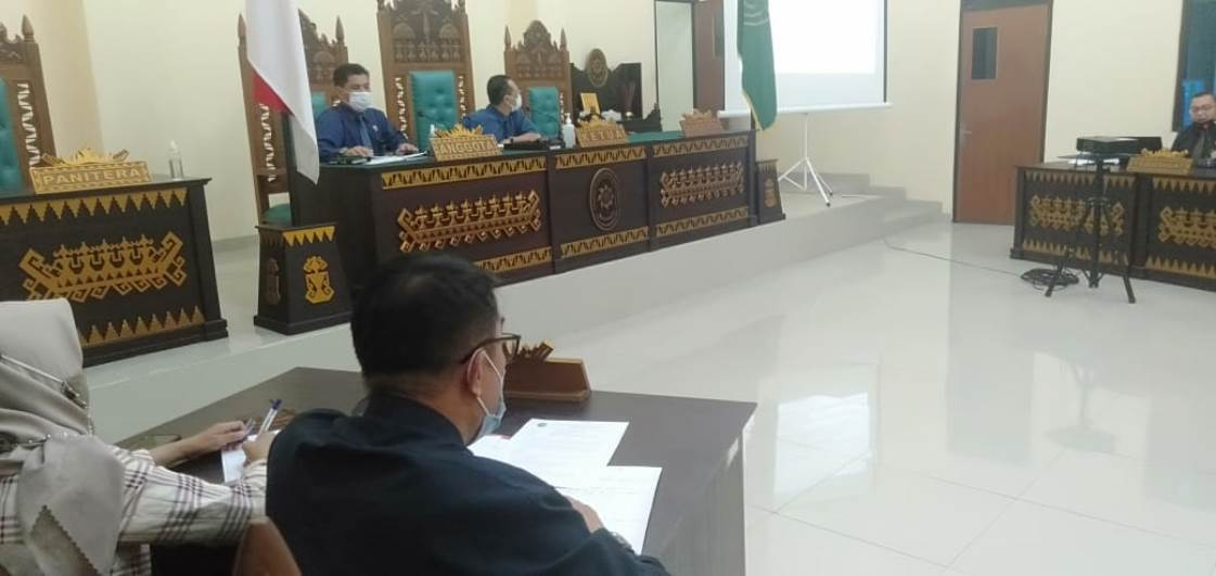 Rapat Pembahasan Teknis Peradilan PTUN Bandar Lampung