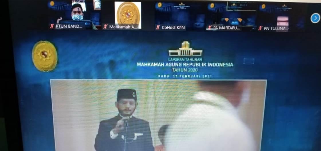 Sidang Istimewa Laporan Tahunan Mahkamah Agung Republik Indonesia