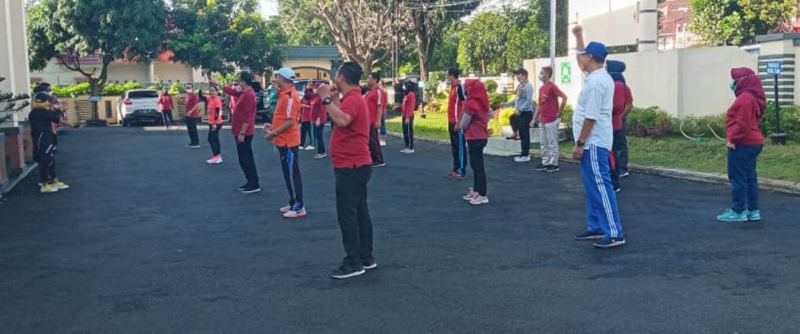 Senam Pagi Bersama PTUN Bandar Lampung